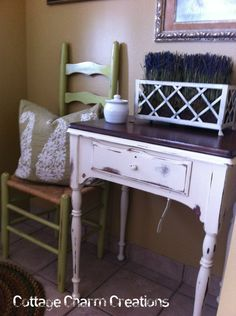 vintage sewing machine cabineti am so going to do this