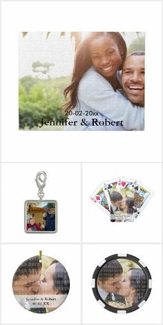 Personalized Gifts - Upload your own photo and turn it into a special #gift. Your friends and family will love it. Cute #keepsakes to celebrate your special day or any event / occasion. #christmas #anniversary