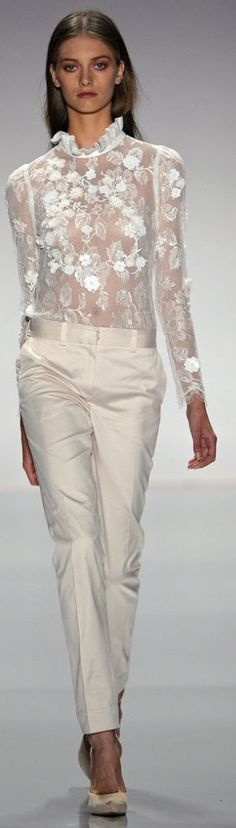 Jill Stuart lace gorgeousness for spring