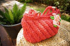 chic crochet bag