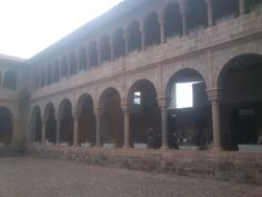 Patio interior Santo Domingo-Qoricancha. Cusco, Perú