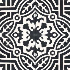 Dramatic Contrast: 20 Gorgeous Black & White Tile Patterns