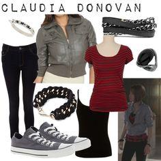 Claudia Donovan Concept Art