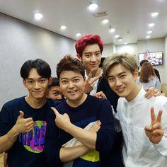[kor_celebs] タレントMCチョン・ヒョンム、SNS更新。本日23時、EXOのバラエティ「Happy Together」出演。SUHOに対する暴露戦を予告。
