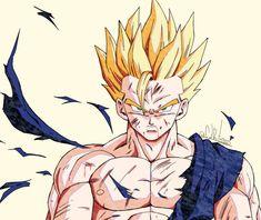Dragon Ball Z, Dragon Z, Dragon Ball Image, Dbz Drawings, Illustrations, Fan Art, Digimon, Anime Characters, Anime Art