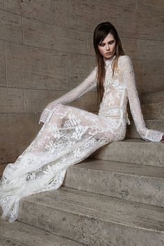 Va Va, Who?? Vera Wang wedding dress. Yay or Nay? Spring 2015 Wedding Dresses - 15 Designer Wedding Dresses for Spring - Elle