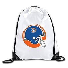 Good Gift - Fashion American Football Team Sport Bag Drawstring Sling  Backpack For Men   Women Sackpack d64f8aaccf655