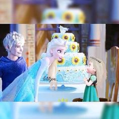 Instagram media by xx.elsa.forever17.xx - (Credit to : let.it.go) Hey snowflakes how are you all today and I hope you are all well Do you want some cake darling *smiles* and do you want some Jack