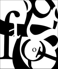 Typography Glyph Compositions on Behance