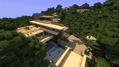 World Of Keralis Modern Water Fall House