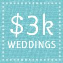 You choose your budget, then it shows you tons of examples of weddings within the same budget. It even breaks down what each bride spent.