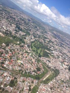 On to Panama!  Honduras was great!  Here is a shot from a puddle jumper out of Tegucigalpa lancelot