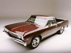 1967 Chevrolet El Camino Maintenance of old vehicles: the material for new cogs/casters/gears/pads could be cast polyamide which I (Cast polyamide) can produce