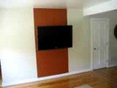 Hide TV cables, DVD cables, etc! Hidden cable box, DVD player, etc.