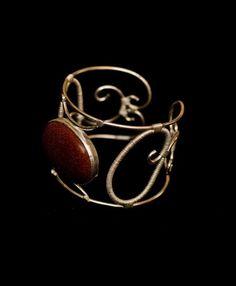 Silver Bracelet with Semi precious stone