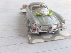 Geldgeschenk zur Hochzeit - Hochzeitsauto Mercedes Benz silber über http://de.dawanda.com/product/107103923-hochzeitsauto-mercedes-silber-geldgeschenk