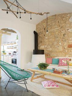 HoMe Hotel Menorca, Ciutadella, Espagne Home Interior Design, Interior And Exterior, Interior Decorating, Living Room Inspiration, Interior Inspiration, Style At Home, Living Room Decor, Living Spaces, Sweet Home