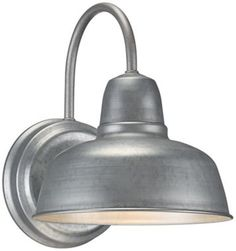 Barn Wall Urban Metal 11 1/4-Inch-H Outdoor Wall Sconce - @EuroStyleLighting #interior_design #wall_sconce