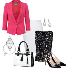 @Work ~ Spring 2013 by annabouttown on Polyvore featuring polyvore, fashion, style, Jo Mercer and Cutie