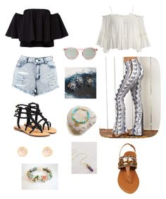 """Coachella 2K17"" by tjeoc ❤ liked on Polyvore featuring Boohoo, Sans Souci, Wildfox, Mystique, REGALROSE and Latelita"