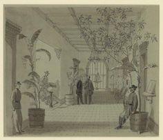 Entrance Hall of Mr. Charles Green's house, Savannah, Georgia. Union occupied. Alfred R. Waud
