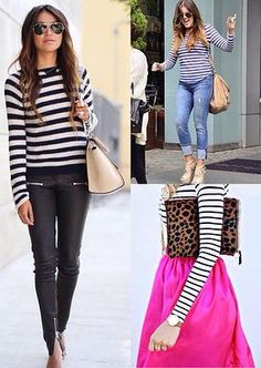 fashiontrademoda | Get the look: stripes