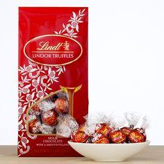 Lindt Milk Chocolate Lindor Truffles   World Market