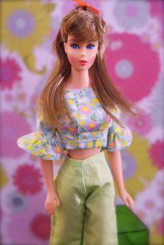 Vintage Standard Barbie - light brown hair | Flickr