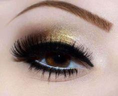 Gold     #eyes #eye #makeup