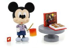"""Disney Play Buddies 3.5"""" Play set - Mid Autumn Festival - Mickey [33131] by Dragon. $25.99. Play Buddies Collection comprises different Disney characters in a setting that brings customers back to their nostalgic Hong Kong childhood.  Mid-Autumn Festival (???) is a popular lunar harvest festival celebrated in Asia. Hong Kong celebrate the occasion by carrying brightly lit lanterns and eat mooncakes during the month.  People can now relive their childhood memories with these ..."""