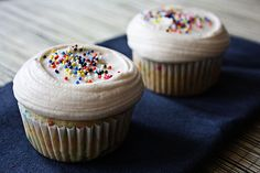 Funfetti Cupcakes for Two