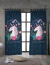 Vorhang «Einhorn» 1 Stück Curtains, Home Decor, Cheap Bathroom Remodel, Traditional Bathroom, Unicorn, Blinds, Interior Design, Draping, Home Interior Design
