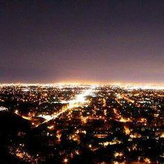 View of Orange from Saddleback Hills