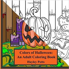 Colors of Halloween: An Adult Coloring Book - https://tryadultcoloringbooks.com/colors-of-halloween-an-adult-coloring-book/ - #AdultColoringBooks, #Fantasy