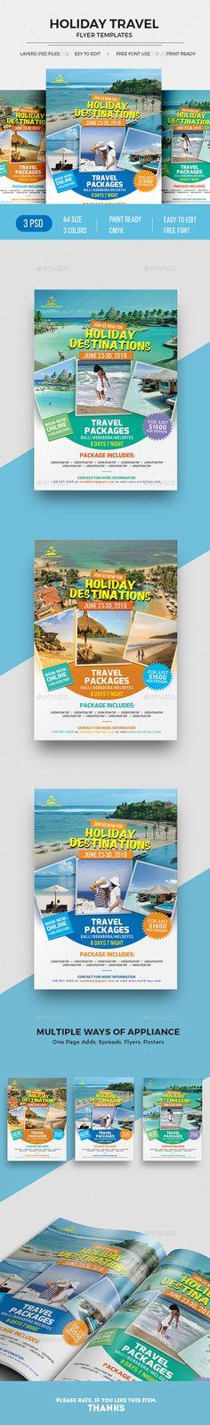71 Best Travel Flyer Images On Pinterest Flyer Template Booklet