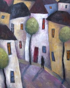 Quiet Street, Evening by Jeremy Mayes