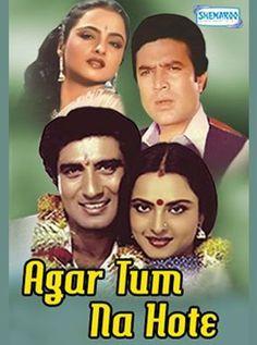 Agar Tum Na Hote Hindi Movie Online - Rajesh Khanna, Rekha, Raj Babbar, Madan Puri, Asrani, Sudhir Dalvi and Sunder. Directed by Lekh Tandon. Music by Rahul Dev Burman. 1983 ENGLISH SUBTITLE
