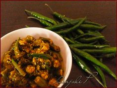 """Anjali's Culinary Paradise"": Green Chilly Pickle"