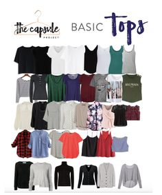 How to build a complete wardrobe. The best list I have seen! It's thorough, with pictores and a book reference. #clothes