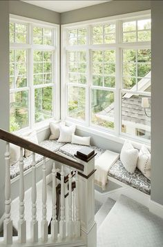A cozy window nook paired with an amazing view can make your window the perfect spot, easily making it one of your most favorite spaces in your whole home.