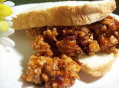 If your family likes barbecue chicken and sloppy joes, this is an easy combo that they should enjoy.