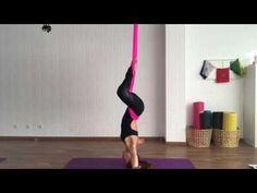 Aerial Yoga by Alessandra Machemer - YouTube