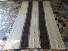 8'69''x4'69  Oushak Kilim Rug RunnerTraditional Organic by Volkancarpet on Etsy
