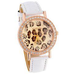 Leopard watch. Love!