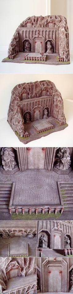Dwarf city entrances