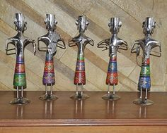 Home Decor African Statues Handpainted Wooden & Metal Tribal Musician Set Of 5 Pcs Lalhaveli http://www.amazon.com/dp/B010QJ7D8Q/ref=cm_sw_r_pi_dp_f4pPvb0JH7R3E
