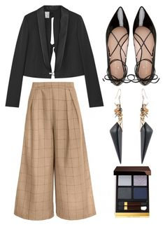 """""""Untitled #438"""" by queenslays ❤ liked on Polyvore featuring Kate Spade, Lanvin, Alexis Bittar and Tom Ford"""