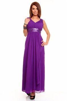 Astrapahl, Traumhaftes Abendkleid mit breiten Trägern, Pailletten Verzierung, Farbe purple, Gr.32 Astrapahl http://www.amazon.de/dp/B005SZ23RA/ref=cm_sw_r_pi_dp_j1tStb06SRCQMR5V