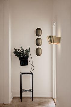 GUBI // 9464 Wall Lamp, NYC Corridor Lamp, TS Console, Matégot Flower Pot