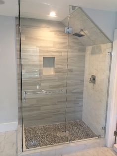 Glass Enclosure With Angled Ceiling - Patriot Glass and Mirror ...